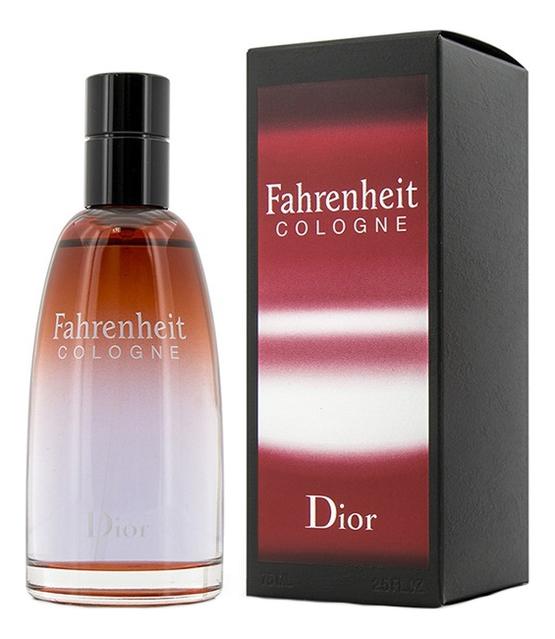цена Christian Dior Fahrenheit Cologne: одеколон 75мл онлайн в 2017 году