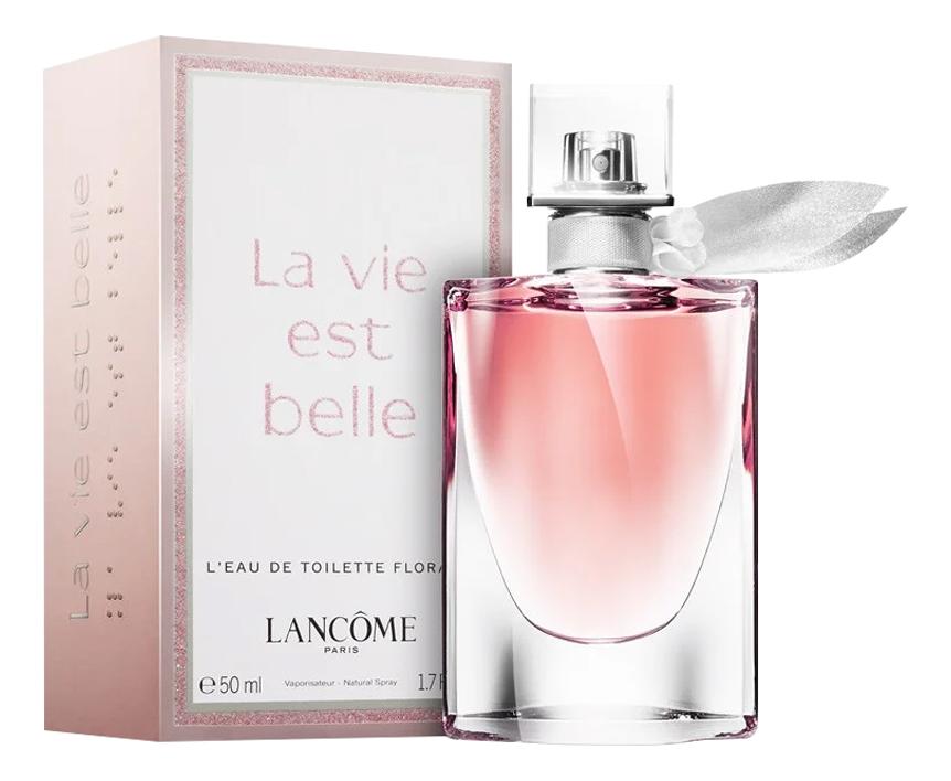 Lancome La Vie Est Belle L'Eau de Toilette Florale: туалетная вода 50мл lancome la vie est belle leau florale туалетные духи 50 мл
