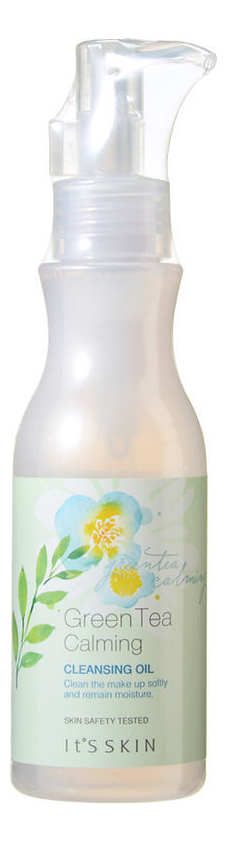 Купить Масло для снятия макияжа с зеленым чаем Green Tea Calming Cleansing Oil 145мл, It's Skin
