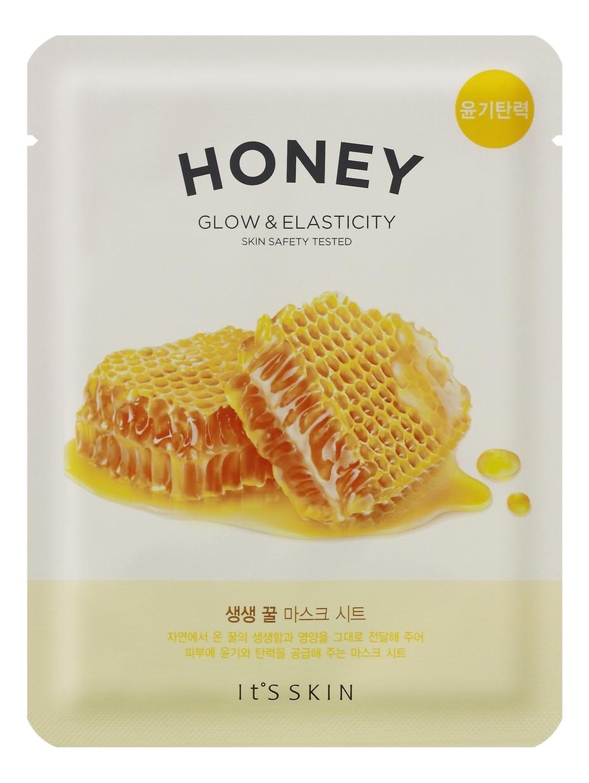 Купить Тканевая маска для лица с медом The Fresh Mask Sheet Honey 20мл, It's Skin