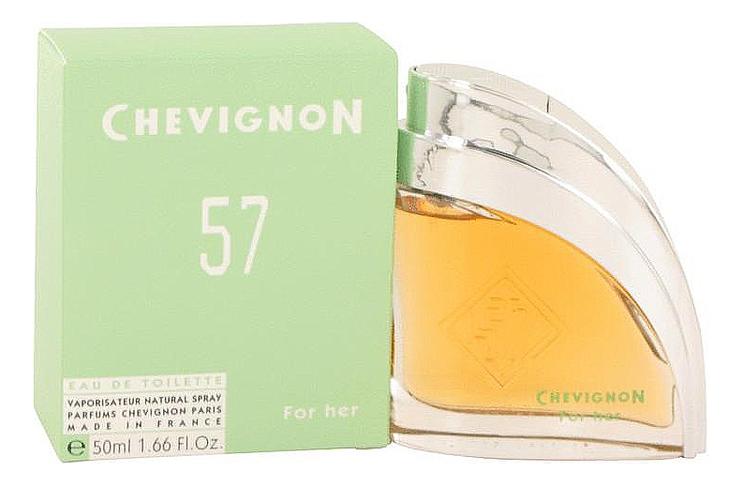 57 Chevignon Винтаж: туалетная вода 50мл