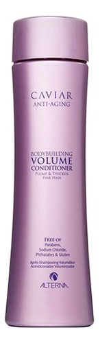 Кондиционер для объема волос с морским шелком Caviar Anti-Aging Bodybuilding Volume Conditioner: 40мл