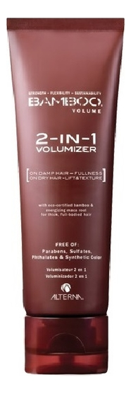 alterna bamboo smooth набор bamboo smooth набор Крем для объема 2 в 1 Bamboo Volume 2-in-1 Volumizer 100мл