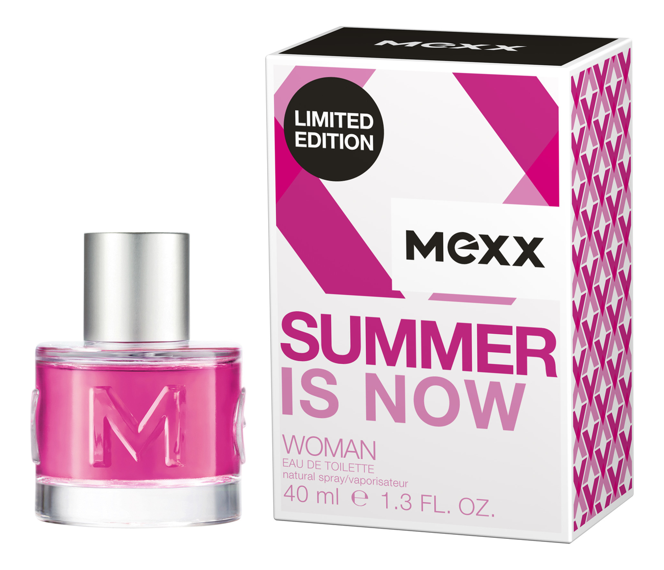 Mexx Summer is Now Woman: туалетная вода 40мл mexx woman festival splashes туалетная вода 40мл