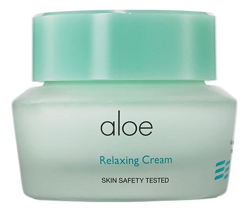 Фото - Крем для лица с экстрактом алоэ Aloe Relaxing Cream 50мл крем для тела с экстрактом зверобоя и маслом ройбоша skin nourishing body cream крем 50мл