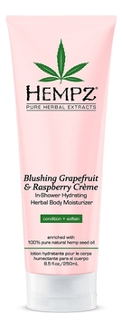 Кондиционер для душа Грейпфрут и Малина Blushing Grapefruit & Raspberry Creme In Shower 250мл