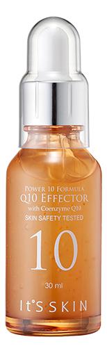 Сыворотка для лица с коэнзимом Q10 Power 10 Formula Q10 Effector 30мл: Сыворотка 30мл сыворотка для лица с витамином b6 power 10 formula vb effector 30мл