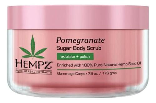 Скраб для тела Pomegranate Sugar Body Scrub 176г (сахар и гранат) цена 2017