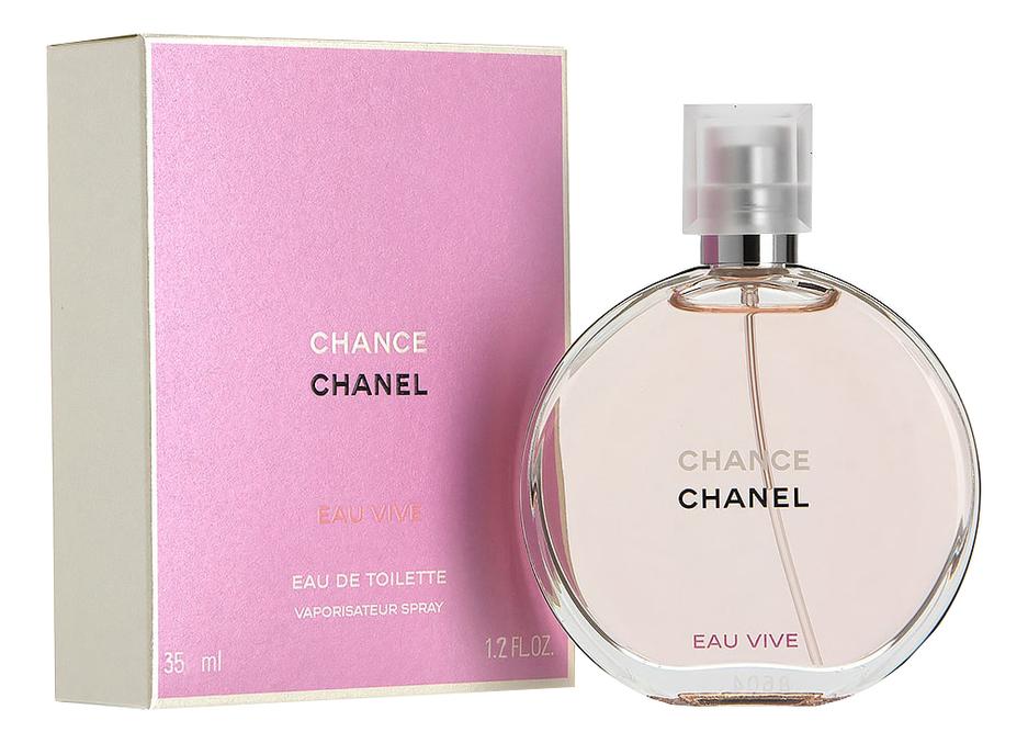 Chanel Chance Eau Vive: туалетная вода 35мл недорого