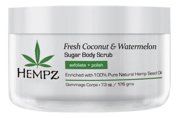 Скраб для тела Fresh Coconut & Watermelon Sugar Body Scrub 176г (кокос и арбуз) недорого