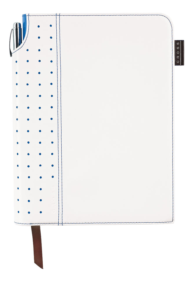 Записная книжка Journal Signature А5 (250 страниц в линейку + ручка) белая