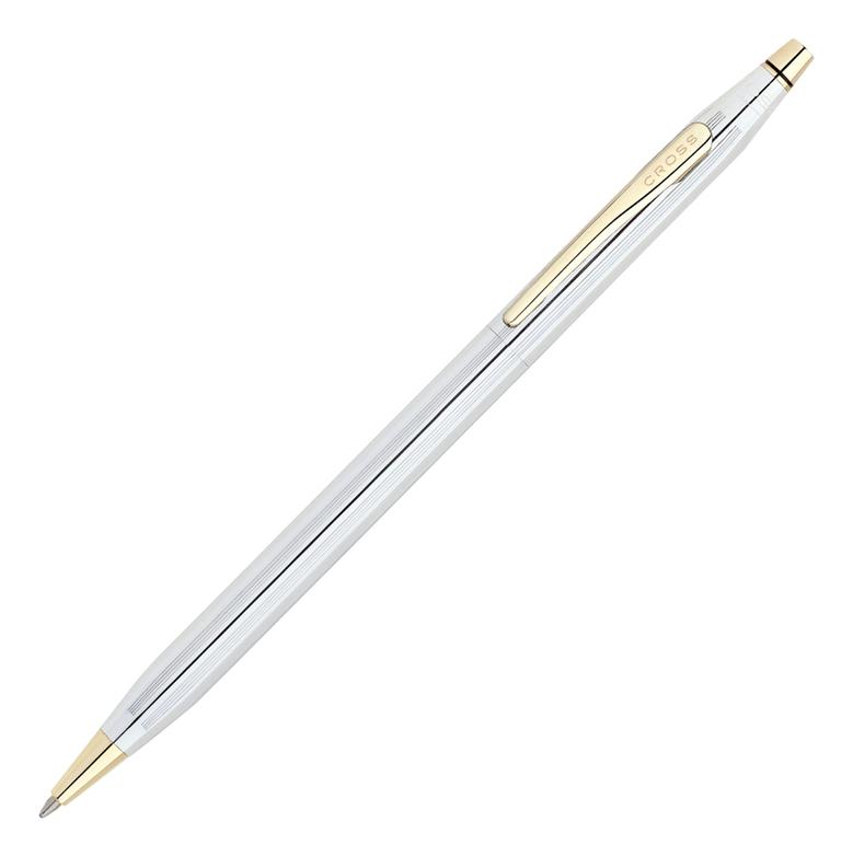 Фото - Шариковая ручка Century Classic (серебристая с золотистой отделкой) шариковая ручка century classic серебристая с золотистой отделкой