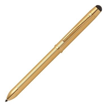 Многофункциональная ручка Tech3+ (золотистая)