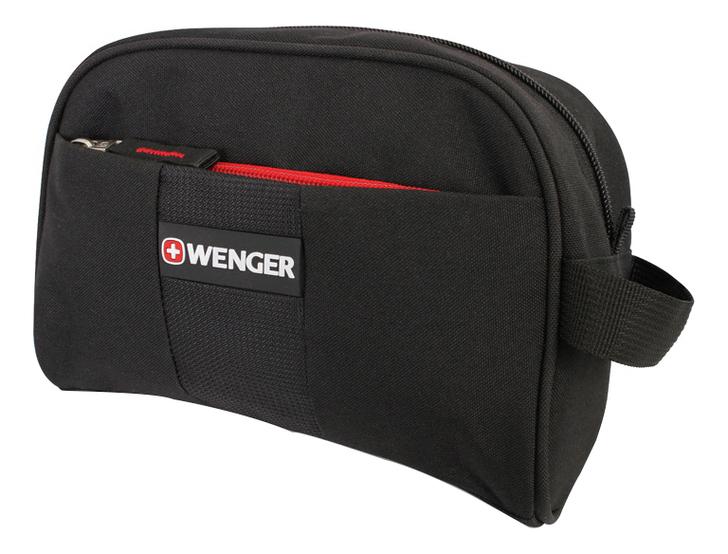 Несессер задний карман на липучке (черный)