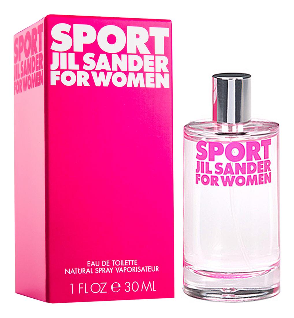 Jil Sander Sport for Women: туалетная вода 30мл цена 2017
