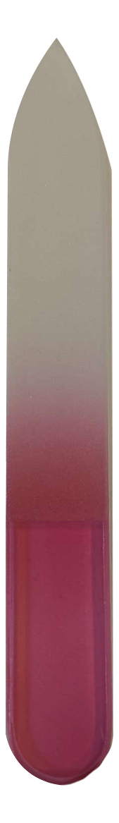 Пилка стеклянная Beauty GF-01R 9,5см (красная)
