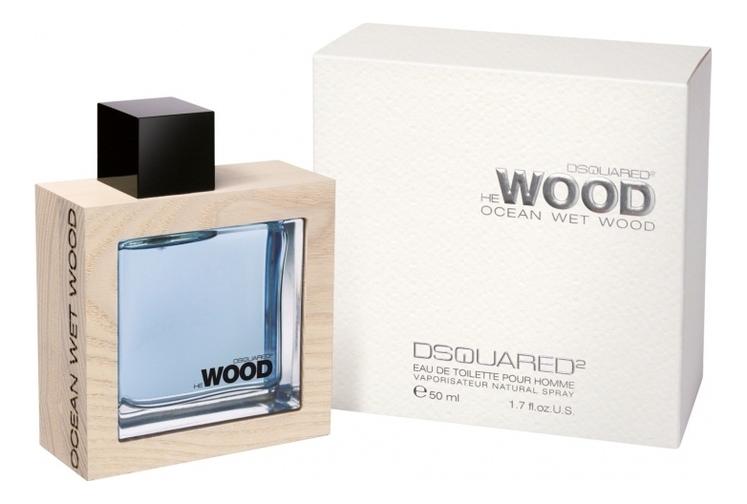 Dsquared2 He Ocean Wet Wood men: туалетная вода 50мл dsquared2 he wood intense