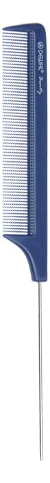 Купить Расческа Beauty с металлическим хвостиком 22см (синяя), Dewal