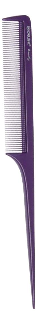 Купить Расческа Beauty с пластиковым хвостиком 20, 5см (синяя), Dewal