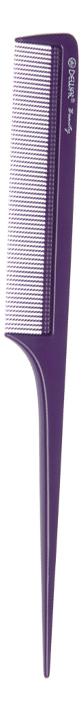 Расческа Beauty с пластиковым хвостиком 20,5см (фиолетовая)