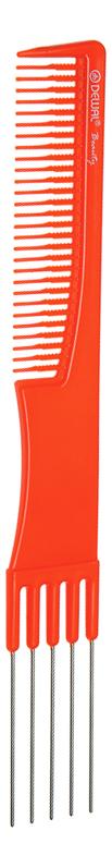 Купить Расческа Beauty для начеса с металлическими зубцами 19см (оранжевая), Dewal