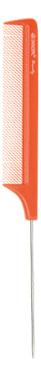 Купить Расческа Beauty с металлическим хвостиком 22см (оранжевая), Dewal