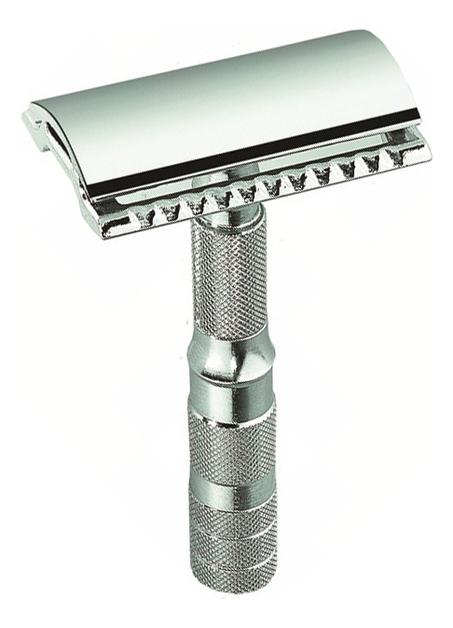 Фото - Станок Т-образный Merkur (безопасная бритва с закрытым гребнем + чехол) хром т образная бритва merkur solingen 90702003 золотой