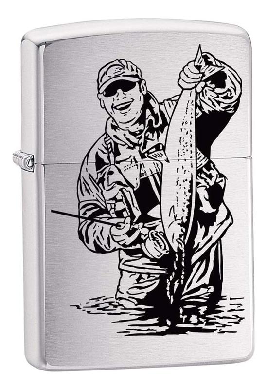 Купить Зажигалка бензиновая 200 Fisherman, Zippo