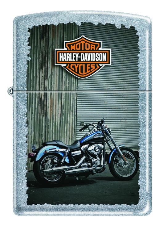 Зажигалка бензиновая Harley-Davidson Bikes 207 зажигалки zippo z 207 harley davidson