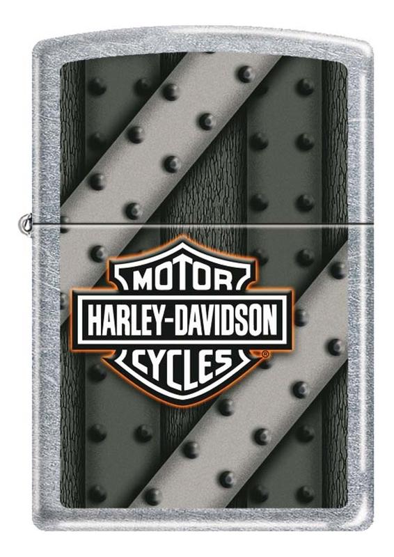Зажигалка бензиновая Harley-Davidson 207 зажигалки zippo z 207 harley davidson