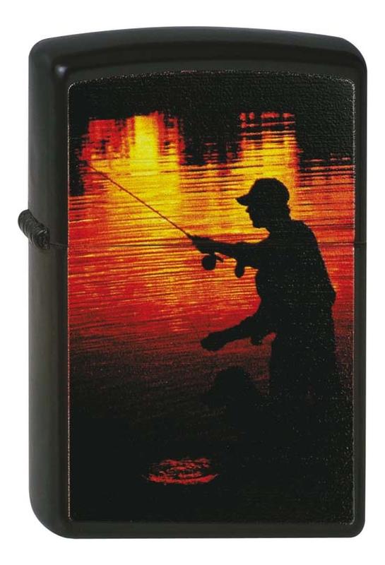 Купить Зажигалка бензиновая 218 Fisherman, Zippo