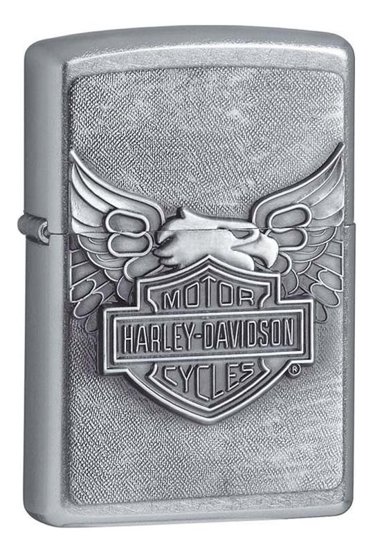 Фото - Зажигалка бензиновая Motor Harley-Davidson (серебристая) зажигалка бензиновая harley davidson bikes 207
