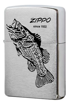 Зажигалка бензиновая 200 Black Bass, Zippo  - Купить