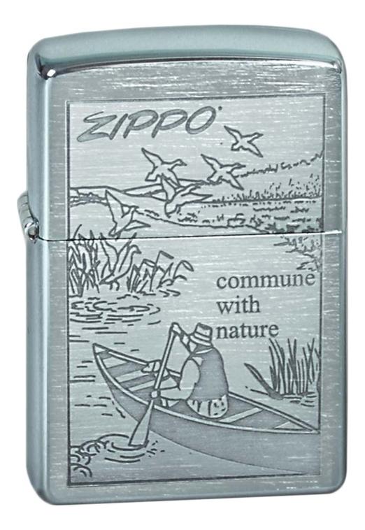 Купить Зажигалка бензиновая Row Boat 200, Zippo