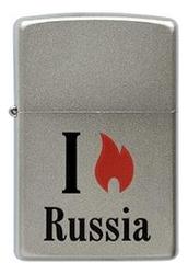 Купить Зажигалка бензиновая Flame Russia 205, Zippo