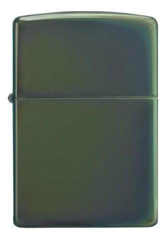 Зажигалка бензиновая Classic Chameleon (серебристая, глянцевая)