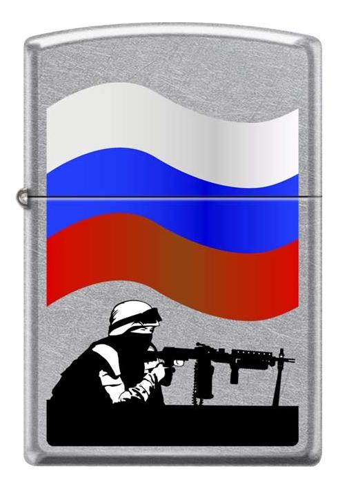 Купить Зажигалка бензиновая 207 Russian Soldier, Zippo