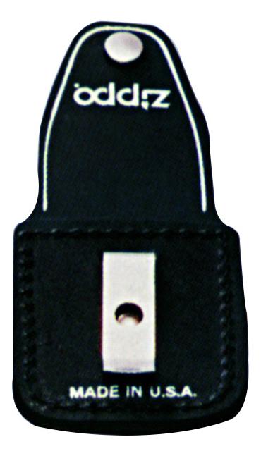Чехол для зажигалки с клипом (черный)