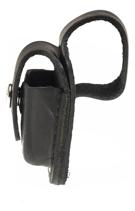 Чехол для широкой зажигалки с отверстием для большого пальца (черный)