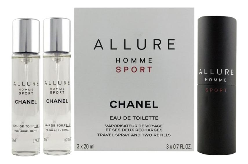 Chanel Allure Homme Sport: туалетная вода 3*20мл