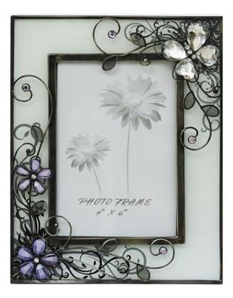 Фото - Рамка для фотографии Стеклянная бабочка (фото 10х15см) аксессуар для упаковки бабочка