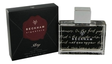 David Beckham  Signature Story For Men