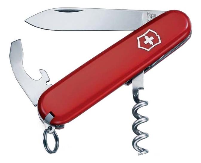 Нож перочинный Waiter 84мм 9 функций (красный) нож перочинный victorinox ecoline 2 6910 84мм матовый красный