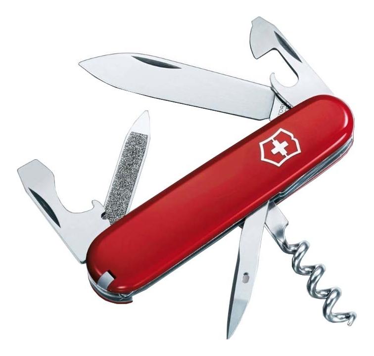 Нож перочинный Sportsman 84мм 12 функций (красный) нож перочинный victorinox ecoline 2 6910 84мм матовый красный