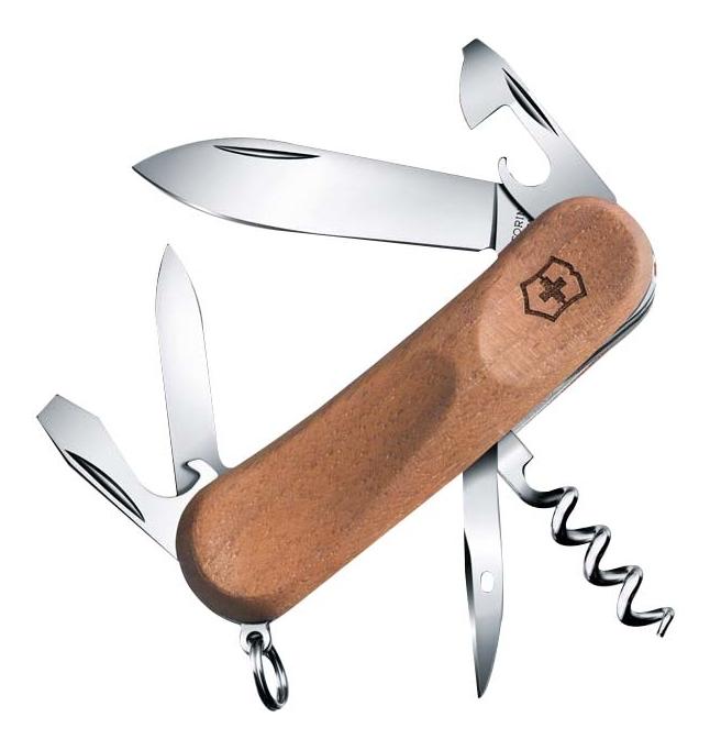 Купить Нож перочинный Evowood 10 85мм 11 функций (ореховое дерево), Victorinox