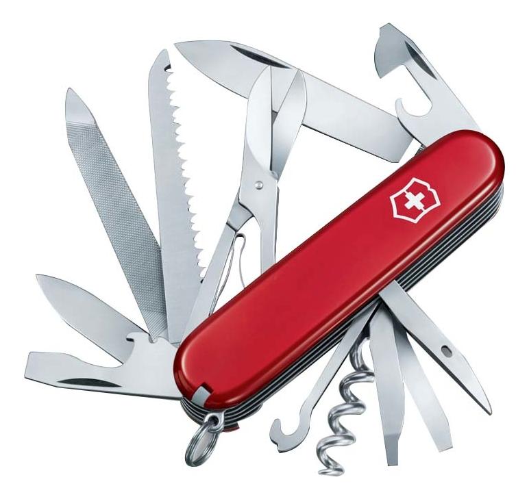 цена на Нож перочинный Ranger 91мм 21 функция (красный)