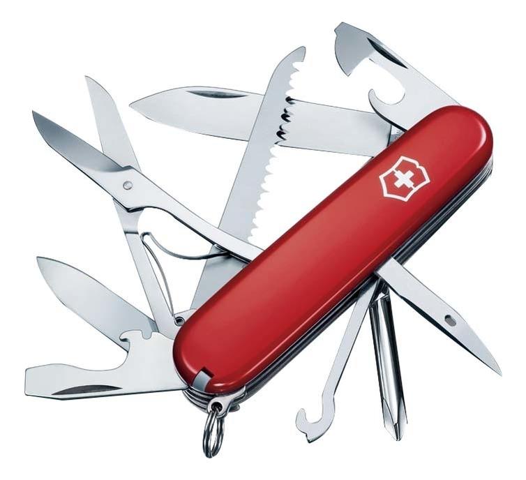 Нож перочинный Fieldmaster 91мм 15 функций (красный) нож перочинный cybertool 41 91мм 39 функций полупрозрачный красный