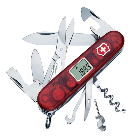 Нож перочинный Traveller 91мм 27 функций (красный) нож перочинный cybertool 41 91мм 39 функций полупрозрачный красный