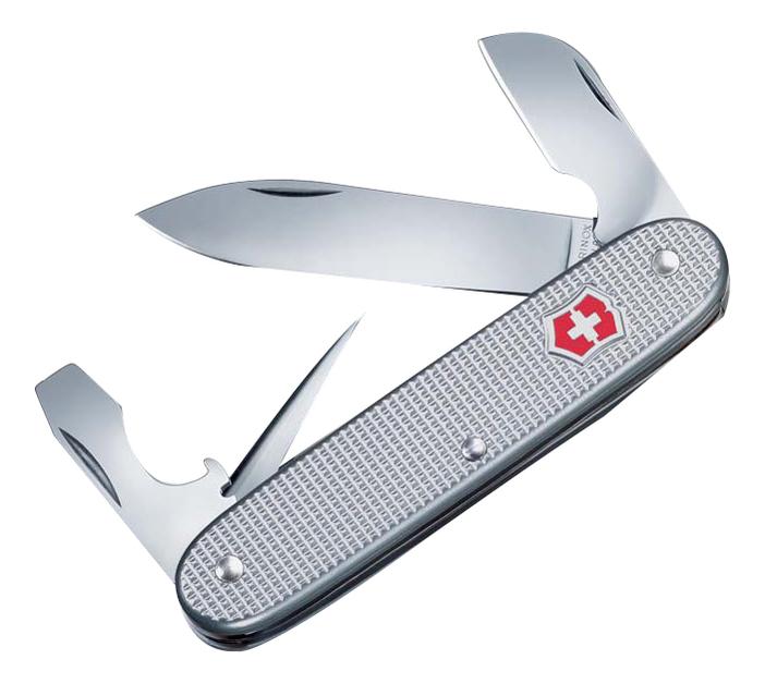 Нож перочинный Electrician 93мм 7 функций (серебристый)
