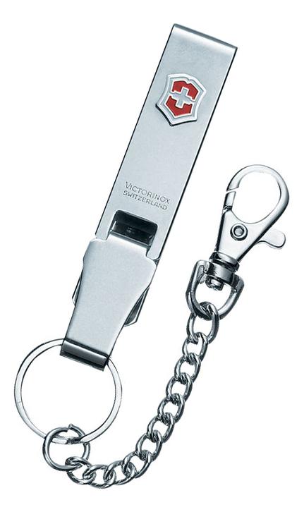 Купить Подвеска на ремень Multiclip с карабином, кольцом для ключей и цепочкой, Victorinox